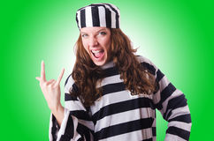 Convict criminal Royalty Free Stock Image