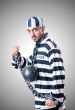 Convict criminal Royalty Free Stock Photo