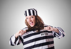 Convict criminal Stock Photo
