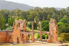 Convict Hospital - Port Arthur Royalty Free Stock Images