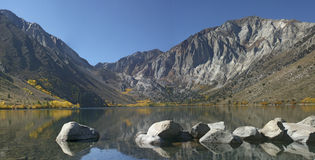 Convict Lake. In the eastern Sirra Nevada Mountains of California Royalty Free Stock Image
