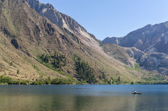 Convict Lake in the eastern Sierra Nevada Range Stock Photos