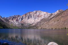 Convict Lake in Mammoth, CA Stock Image