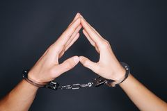 Convicted in love Royalty Free Stock Images