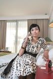 Convidado do hotel chamada Imagem de Stock Royalty Free