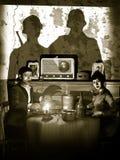 Convidados Uninvited Fotografia de Stock
