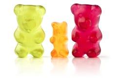 Convierta en gelatina los osos Fotos de archivo
