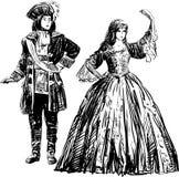 Convite à dança Imagens de Stock Royalty Free
