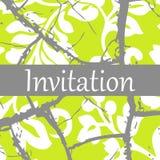 Convite Imagem de Stock