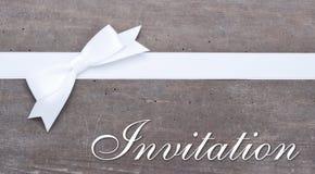 Convite fotografia de stock