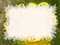 Convite artístico Imagens de Stock Royalty Free