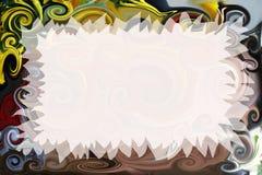 Convite artístico Fotos de Stock