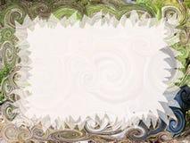 Convite artístico Imagem de Stock Royalty Free