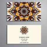 Convite, cartão ou bandeira com molde do texto Fl redondo Foto de Stock Royalty Free