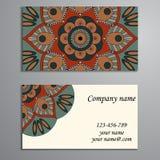 Convite, cartão ou bandeira com molde do texto Fl redondo Foto de Stock