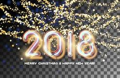 convite 2018 da festão do ouro Imagens de Stock
