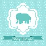 Convite da festa do bebê Imagens de Stock Royalty Free