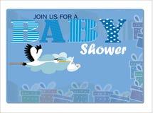 Convite da festa do bebê Foto de Stock Royalty Free