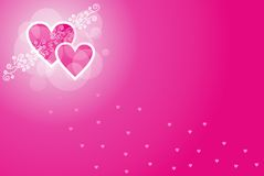 Convite do amor Foto de Stock Royalty Free