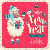 Convite do ano novo Foto de Stock