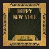 convite 2016 do ano novo Fotos de Stock