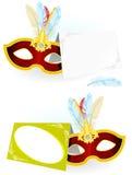 Convite do carnaval Imagens de Stock