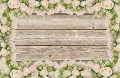 Convite do casamento Fotografia de Stock Royalty Free