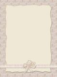 Convite do casamento de Stilish Imagem de Stock