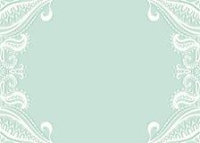 Convite do casamento ou projeto de cartão com Foto de Stock