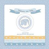 Convite do chuveiro do bebé Foto de Stock Royalty Free