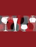Convite do partido de cocktail Imagens de Stock Royalty Free