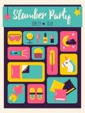 Convite do partido de descanso Imagem de Stock Royalty Free