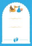 Convite do partido de festa do bebê ilustração stock