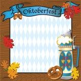 Convite do partido de Oktoberfest Fotografia de Stock Royalty Free