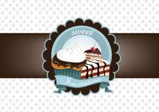 Convite doce Imagem de Stock