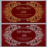 Convite ou cartão do casamento com fundo abstrato Foto de Stock Royalty Free