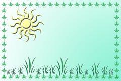 Convite ou molde do cartão Imagem de Stock Royalty Free