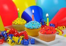 Convites del cumpleaños Imagen de archivo libre de regalías