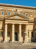 Convitto Palmieri com o busto de Giosue Carducci Lecce Puglia Fotos de Stock Royalty Free