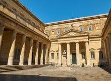 Convitto Palmieri con il busto di Giosue Carducci Lecce La Puglia Immagine Stock Libera da Diritti