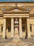 Convitto Palmieri con il busto di Giosue Carducci Lecce La Puglia Immagini Stock