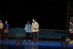 convocateur de l'opéra de Jiangxi de réunion une balance Photos libres de droits
