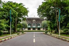 Convocation Hall in Yangon University, Myanmar, June-2017 Royalty Free Stock Photography