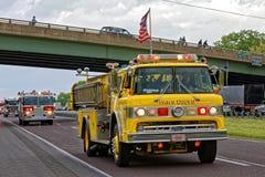 Convoi de camions de jour de mères à Lancaster Pennsylvanie photos libres de droits