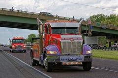 Convoi de camions de jour de mères à Lancaster Pennsylvanie photos stock