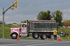 Convoi de camions de jour de mères à Lancaster Pennsylvanie photographie stock libre de droits