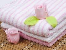 Convolute towels Royalty Free Stock Photo