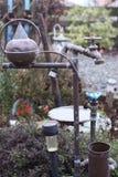 Convoluted vattensystem Royaltyfri Fotografi