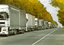 Convoy Royalty Free Stock Image