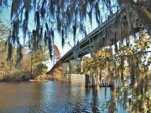 Conway Riverwwalk Moss lizenzfreies stockbild